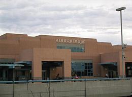 hyrbil Albuquerque Flygplats